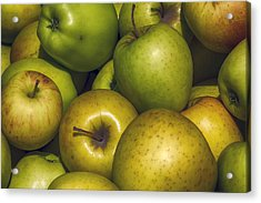 Apples Acrylic Print by Robert Ullmann