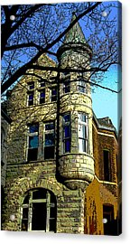 Architecture Series Acrylic Print by Ginger Geftakys