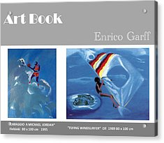 Art Book Acrylic Print