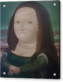 Bogota Museo Botero Acrylic Print