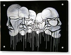 6 Faces Acrylic Print by Stephen  Barry