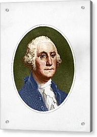 George Washington, 1st American Acrylic Print by Photo Researchers