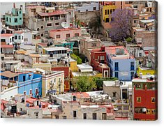 Guanajuato, Mexico. Acrylic Print by Rob Huntley