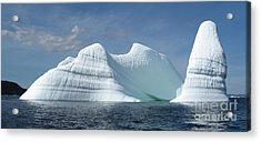 Iceberg Acrylic Print by Seon-Jeong Kim