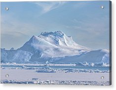 Icefjord - Greenland Acrylic Print