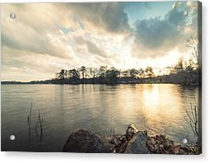 Lake Sunset Acrylic Print