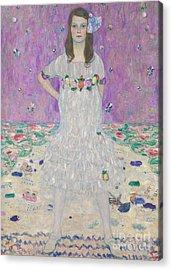 Mada Primavesi Acrylic Print by Gustav Klimt