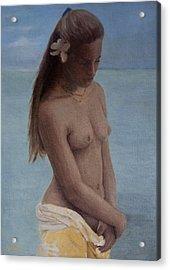 Modesty Acrylic Print