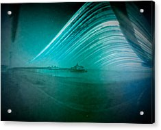 6 Month Exposure Of Eastbourne Pier Acrylic Print