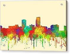 Omaha Nebraska Skyline Acrylic Print