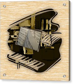 Piano Collection Acrylic Print by Marvin Blaine