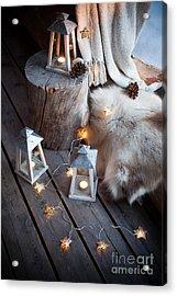 Porch Decoration Acrylic Print by Kati Molin