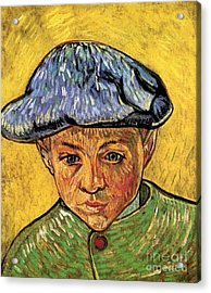 Portrait Of Camille Roulin Acrylic Print by Vincent Van Gogh