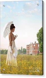 Regency Woman Acrylic Print
