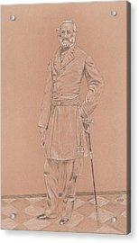 Robert E. Lee Acrylic Print by Dennis Larson