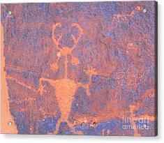 Rock Art - Utah Acrylic Print