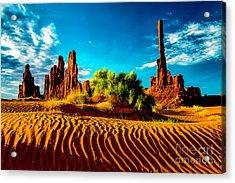 Sand Dune Acrylic Print