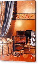 Acrylic Print featuring the painting Still Life by Chonkhet Phanwichien