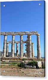 Temple Of Poseidon Acrylic Print