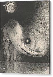 The Buddha Acrylic Print by Odilon Redon