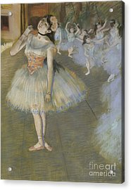 The Star Acrylic Print by Edgar Degas