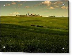 Val D'orcia Landscape Acrylic Print