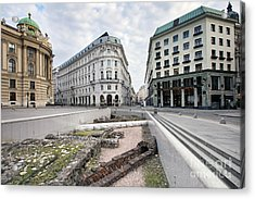 Vienna Acrylic Print by Andre Goncalves