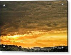 West Virginia Sunrise  Acrylic Print by Thomas R Fletcher