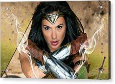 Wonder Woman Art Acrylic Print