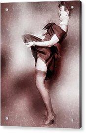Vintage Pinup Acrylic Print