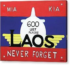 600 Lost Flyers Acrylic Print by Dean Glorso