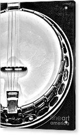 60's Gibson Banjo Acrylic Print by Micah May