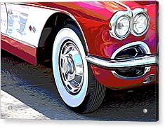 61 Corvette Acrylic Print
