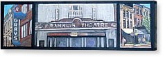 #62 Going To The Franklin Theatre Acrylic Print by Alison Poland