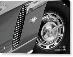 Acrylic Print featuring the photograph '62 In Black And White by Dennis Hedberg