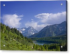 Mountain Lake Acrylic Print