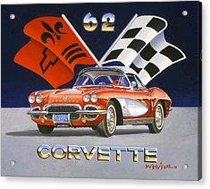 62 Vette Acrylic Print