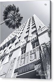 6253 Hollywood At Vine Acrylic Print