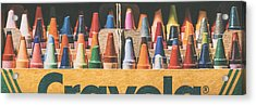 64 Colors Acrylic Print