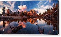 G H Landscape Acrylic Print