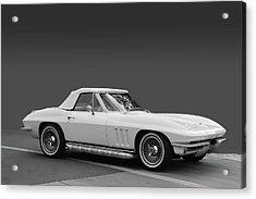 65 Corvette Roadster Acrylic Print