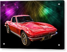 66 Corvette Acrylic Print