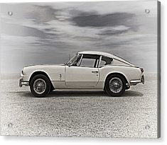 '67 Triumph Gt6 Acrylic Print by Douglas Pittman
