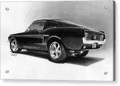 '68 Fast Back Acrylic Print