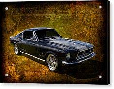 68 Fastback Acrylic Print