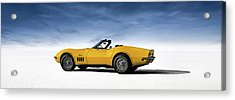 '69 Corvette Sting Ray Acrylic Print by Douglas Pittman