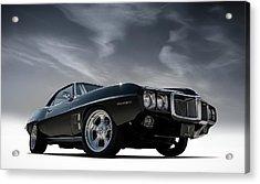 69 Pontiac Firebird Acrylic Print