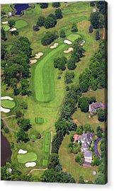 6th Hole Sunnybrook Golf Club 398 Stenton Avenue Plymouth Meeting Pa 19462 1243 Acrylic Print by Duncan Pearson