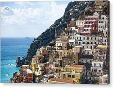 Amalfi Coast Acrylic Print by Andre Goncalves