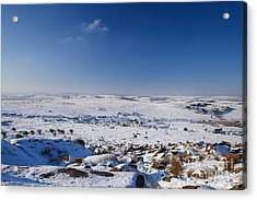 Bodmin Moor Acrylic Print by Carl Whitfield